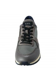 """Tod's """"New All"""" Men's Gray Lace Up Fashion Sneakers Shoes: Picture 5"""