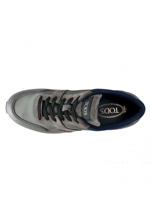 """Tod's """"New All"""" Men's Gray Lace Up Fashion Sneakers Shoes: Picture 7"""