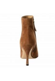 Valentino Garavani Women's Leather Rockstud Toe Ankle Boots Shoes: Picture 3