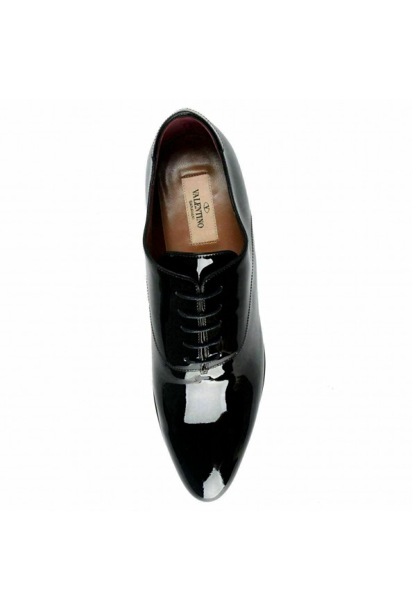 Valentino Garavani Women's Patent Leather Rockstud Oxfords Shoes: Picture 7