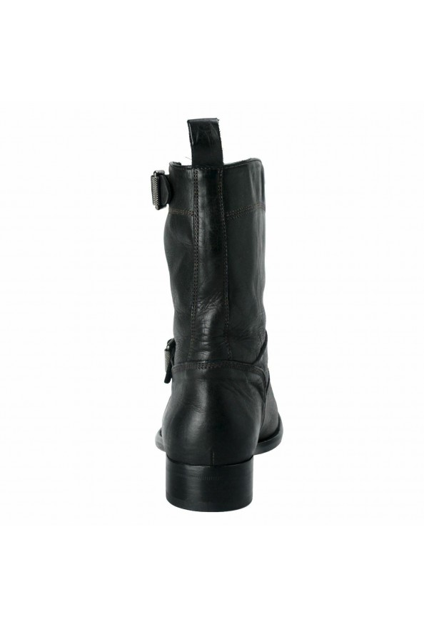 """Belstaff """"England"""" Women's Leather Black Ankle Boots Shoes: Picture 3"""