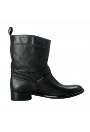 """Belstaff """"England"""" Women's Leather Black Ankle Boots Shoes: Picture 4"""