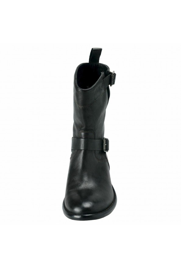 """Belstaff """"England"""" Women's Leather Black Ankle Boots Shoes: Picture 5"""