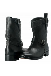 """Belstaff """"England"""" Women's Leather Black Ankle Boots Shoes: Picture 8"""