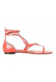 Valentino Garavani Women's Strappy Flat Sandals Shoes: Picture 4