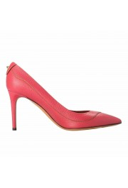 Valentino Garavani Women's Rockstud Fuchsia High Heels Pumps Shoes: Picture 4