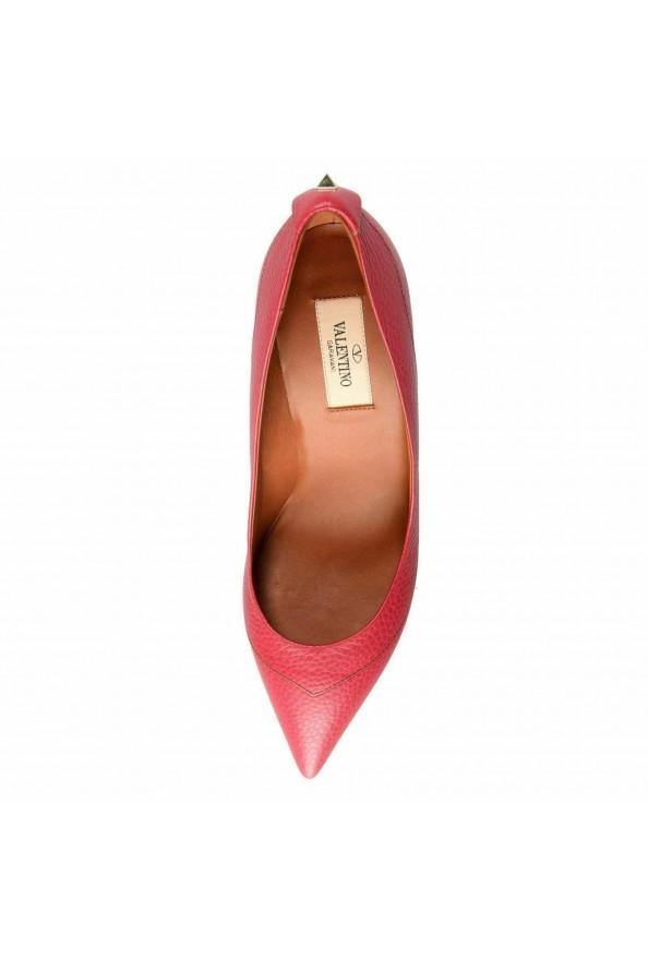 Valentino Garavani Women's Rockstud Fuchsia High Heels Pumps Shoes: Picture 8
