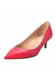 Valentino Garavani Women's Rockstud Fuchsia Kitten Heels Pumps Shoes