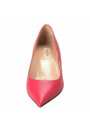 Valentino Garavani Women's Rockstud Fuchsia Kitten Heels Pumps Shoes: Picture 5