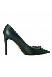 Valentino Garavani Women's Leather Dark Green High Heels Pumps Shoes: Picture 4