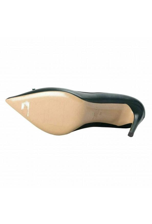 Valentino Garavani Women's Leather Dark Green High Heels Pumps Shoes: Picture 6