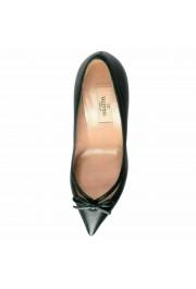 Valentino Garavani Women's Leather Dark Green High Heels Pumps Shoes: Picture 8