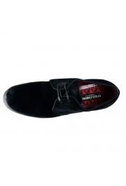 Dolce & Gabbana Men's Black Velour Leather Oxfords Dress Shoes: Picture 7