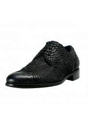 Dolce & Gabbana Men's Python Skin & Leather Oxfords Shoes