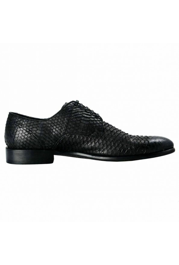 Dolce & Gabbana Men's Python Skin & Leather Oxfords Shoes: Picture 4