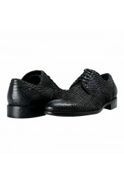 Dolce & Gabbana Men's Python Skin & Leather Oxfords Shoes: Picture 7