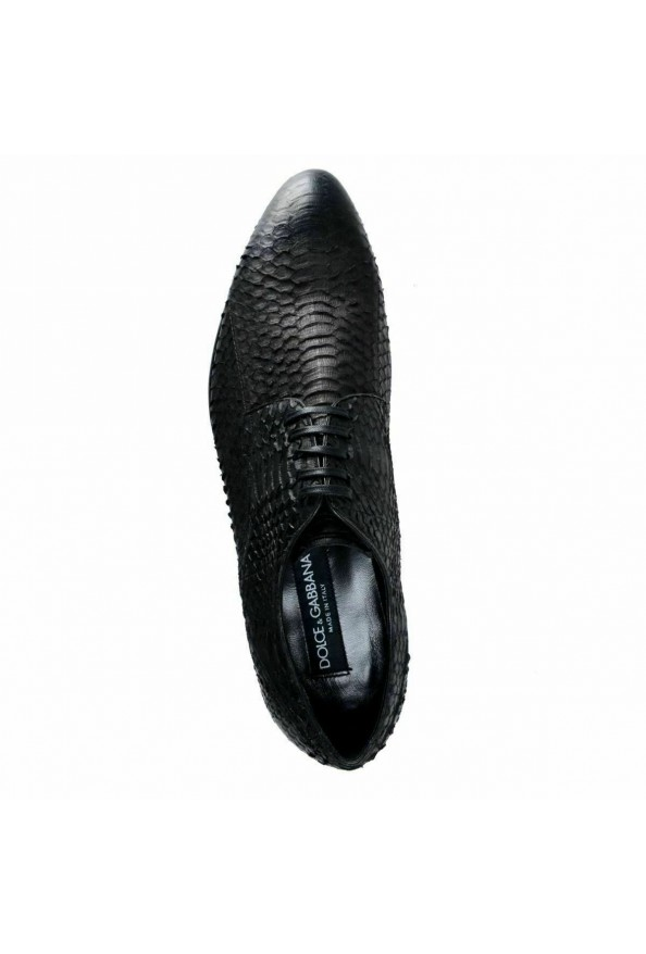 Dolce & Gabbana Men's Python Skin & Leather Oxfords Shoes: Picture 8
