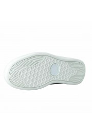 Dolce & Gabbana Men's White Leather Fashion Sneakers Shoes: Picture 6