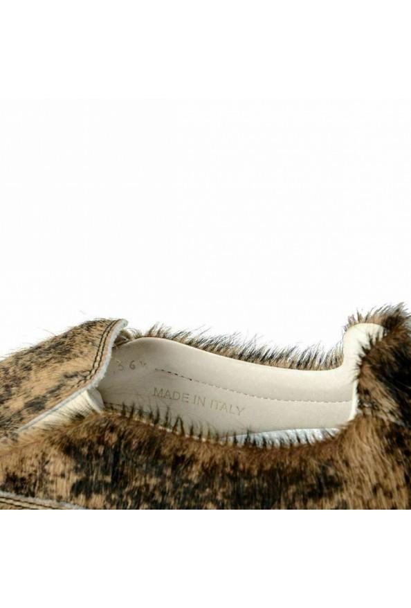 Maison Martin Margiela Women's Pony Hair Moccasins Shoes: Picture 8