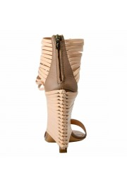 """Salvatore Ferragamo """"Pulcket"""" Leather High Heel Sandals Shoes: Picture 5"""