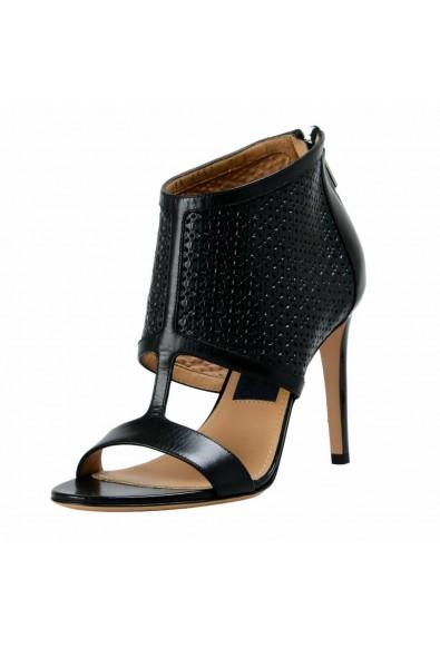 "Salvatore Ferragamo ""Pacella"" Leather High Heel Pumps Shoes"