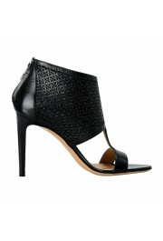 "Salvatore Ferragamo ""Pacella"" Leather High Heel Pumps Shoes: Picture 4"