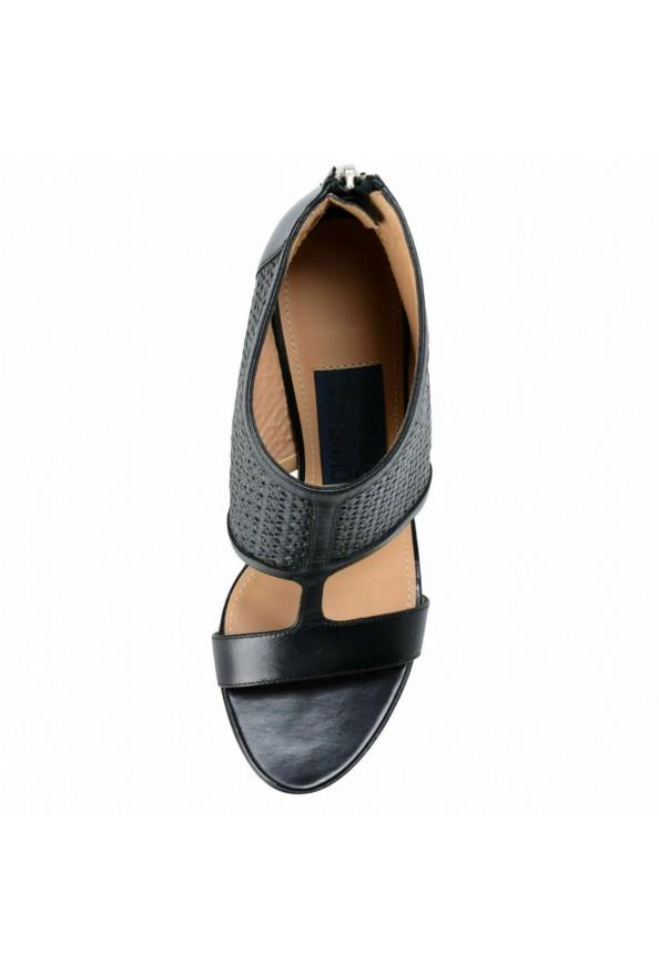 "Salvatore Ferragamo ""Pacella"" Leather High Heel Pumps Shoes: Picture 6"