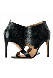 "Salvatore Ferragamo ""Pacella"" Leather High Heel Pumps Shoes: Picture 8"