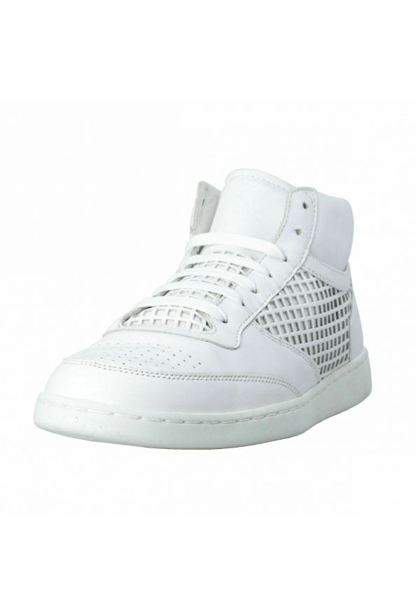 Dolce & Gabbana Men's White Leather Fashion Sneakers Shoes