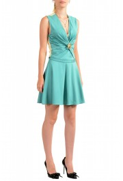 Just Cavalli Women's Two Tone Sleeveless Fit & Flare Dress : Picture 2