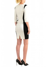 Just Cavalli Women's Two Tone 3/4 Sleeve Bodycon Dress : Picture 3