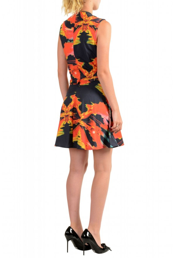 Just Cavalli Women's Two Tone Sleeveless Fit & Flare Dress : Picture 3