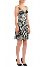 Just Cavalli Women's Two Tone Sleeveless Fit & Flare Dress: Picture 2