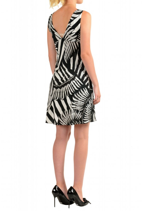 Just Cavalli Women's Two Tone Sleeveless Fit & Flare Dress: Picture 3
