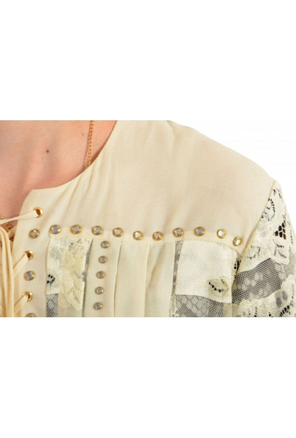 Just Cavalli Women's Multi-Color Lace Shift Dress : Picture 4