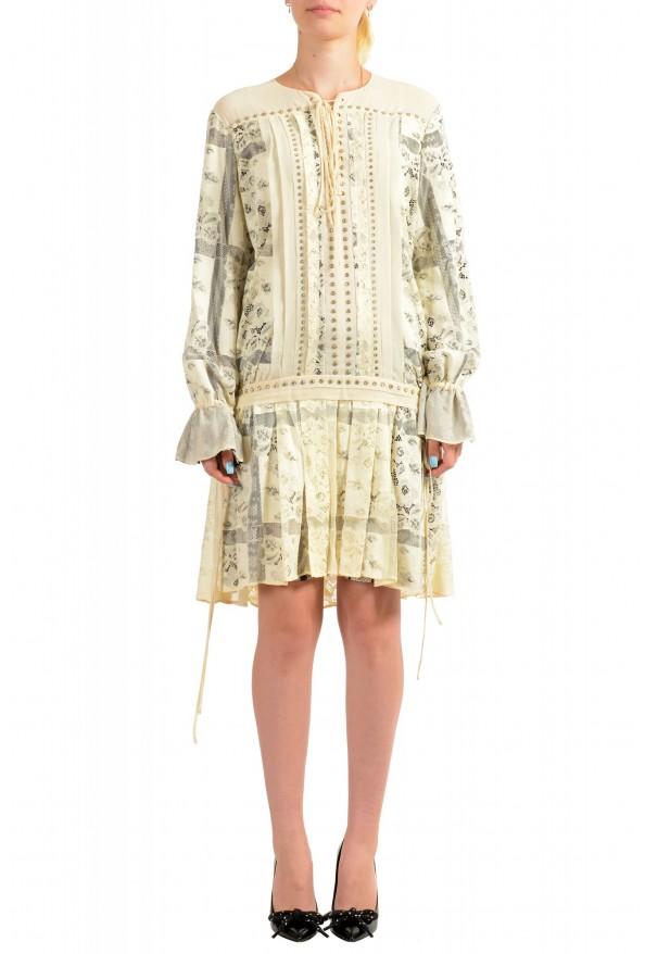 Just Cavalli Women's Multi-Color Lace Shift Dress