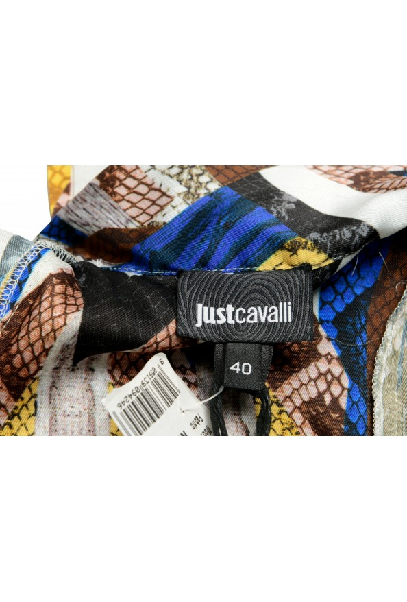 Just Cavalli Women's Multi-Color Pleated Belted Dress : Picture 5