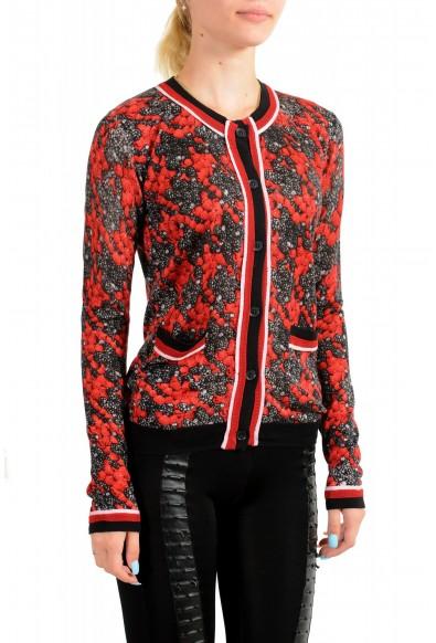 Just Cavalli Women's Multi-Color Silk Cashmere Cardigan Sweater : Picture 2