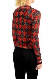 Just Cavalli Women's Multi-Color Silk Cashmere Cardigan Sweater : Picture 3