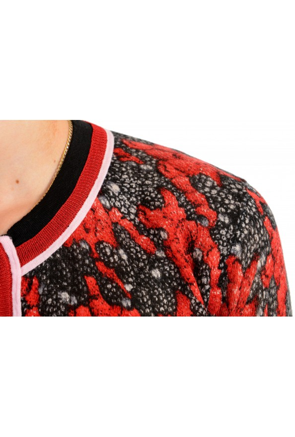 Just Cavalli Women's Multi-Color Silk Cashmere Cardigan Sweater : Picture 5