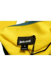 Just Cavalli Women's Yellow Wool Silk Cashmere Pullover Sweater : Picture 5