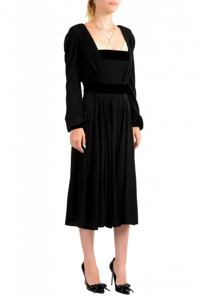 Just Cavalli Women's Black Long Sleeve Evening Dress: Picture 2