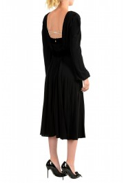 Just Cavalli Women's Black Long Sleeve Evening Dress: Picture 3