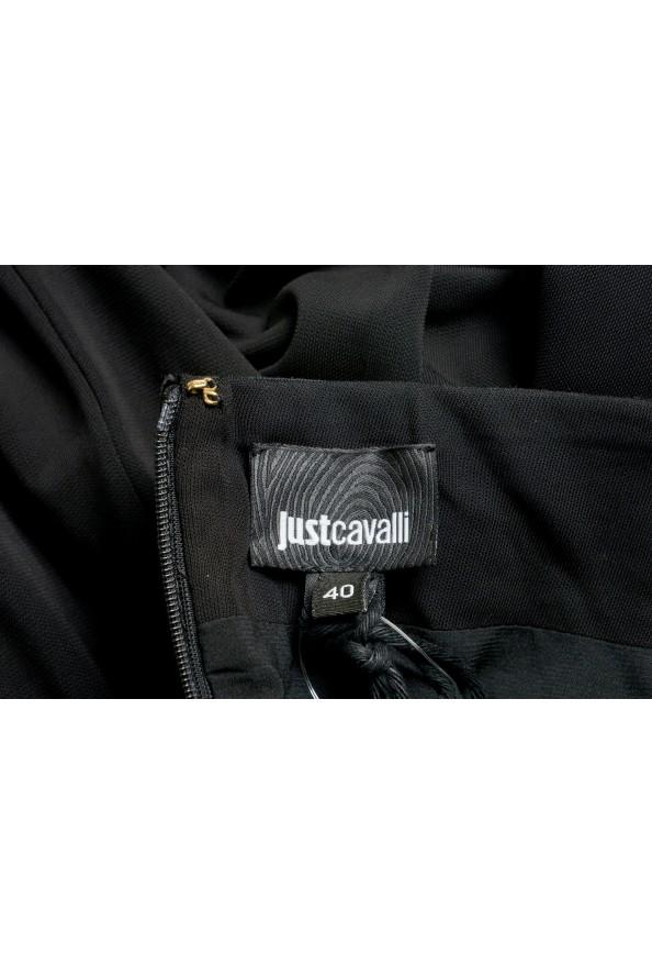 Just Cavalli Women's Black Long Sleeve Evening Dress: Picture 5