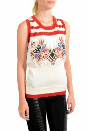 Just Cavalli Women's Multi-Color Sleeveless Blouse Top : Picture 2