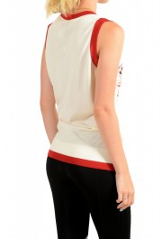Just Cavalli Women's Multi-Color Sleeveless Blouse Top : Picture 3