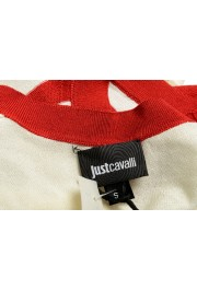 Just Cavalli Women's Multi-Color Sleeveless Blouse Top : Picture 5