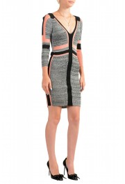Just Cavalli Multi-Color 3/4 Sleeve Women's Stretch Bodycon Dress : Picture 2