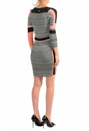Just Cavalli Multi-Color 3/4 Sleeve Women's Stretch Bodycon Dress : Picture 3