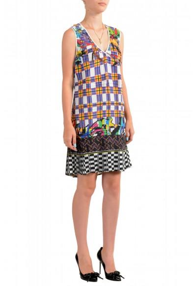 Just Cavalli Women's Multi-Color Pleated Sleeveless Sundress Dress : Picture 2